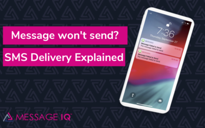 Message won't send? SMS Delivery Explained